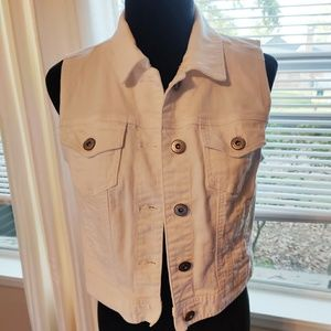Jean jacket crop Maurice's